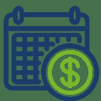 Mensualidades fijas y en moneda nacional durante el contrato