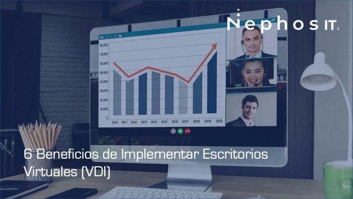 6 Beneficios de implementar escritorios virtuales VDI