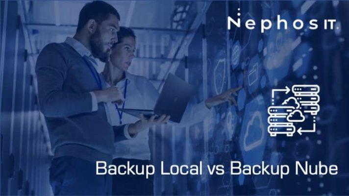 Backup Local vs Backup en la Nube